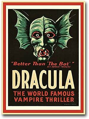 28 x 38 cm cuadro de Drácula cartel clásico de Hollywood ...