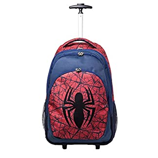 Oficial Marvel Ultimate Spider-Man Logo Trolley Mochila bolsa fin de semana