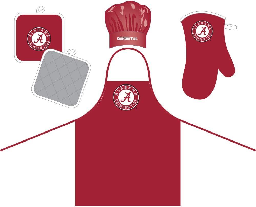 Pro Specialties Group, NCAA Alabama Crimson Tide Unisex NCAA College Football Gift Bundle, Back, One Size (657175515503)