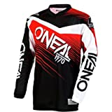 O'Neal 0006-302 Youth Element Racewear Jersey (Black/Red, Small)