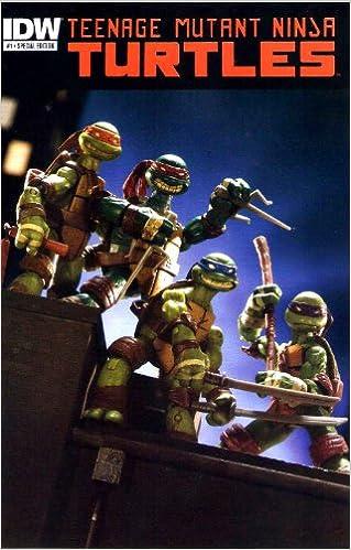 2012 SDCC Exclusive Teenage Mutant Ninja Turtles #1 Spec Ed ...