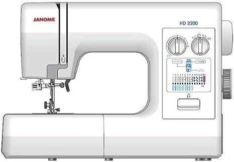 Janome Máquina de Coser HD2200: Amazon.es: Hogar
