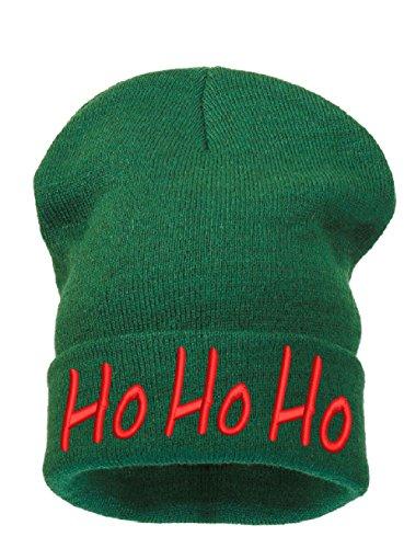 Bonnet Merry 4sold Green Beanie Womens Santa Ho Christmas Tree A Mens dtqrq4w