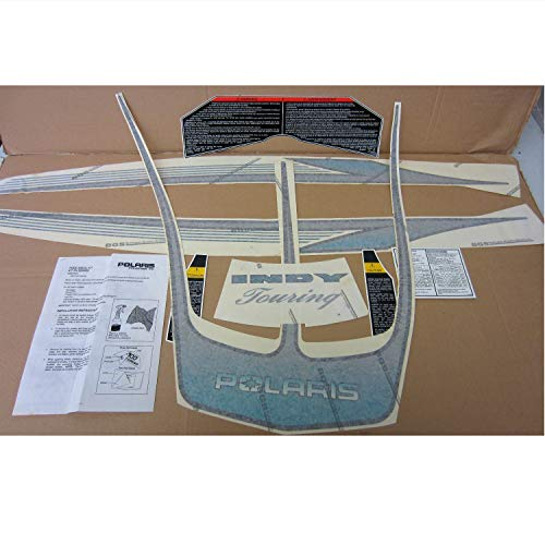 Polaris New OEM Snowmobile Decal Kit Euro,Trail,Touring