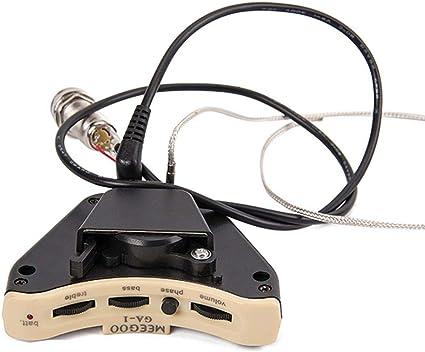 PiRA8, accesorios para guitarra, guitarra y bajo, agujero de ...