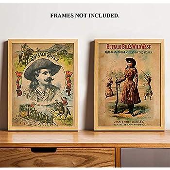 "Buffalo Bill/'s Wild West 14 x 11/"" Photo Print"