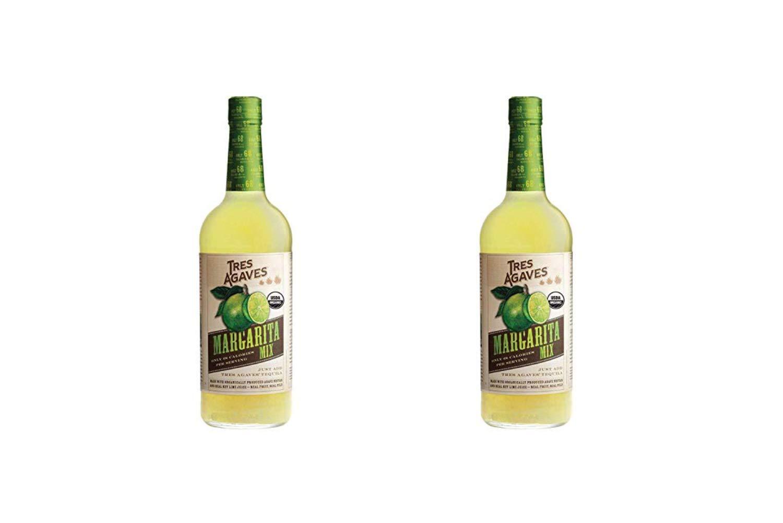 Tres Agaves Mix Margarita, 33.8 Fl Oz (2 Pack)