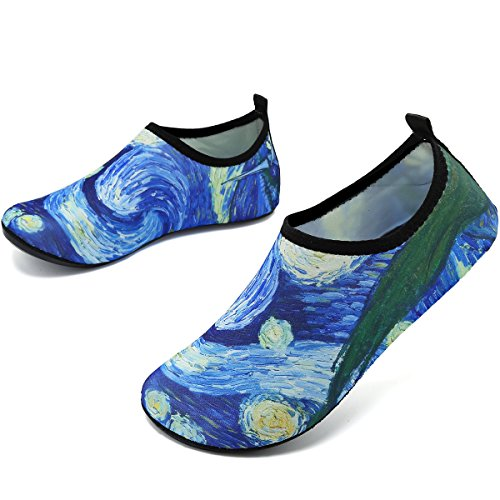 Shoes Drying Unisex Cloud Water VIFUUR Shoes Aqua Yoga Pool Women Beach Quick Exercise Abstract Men for wXSEdqU