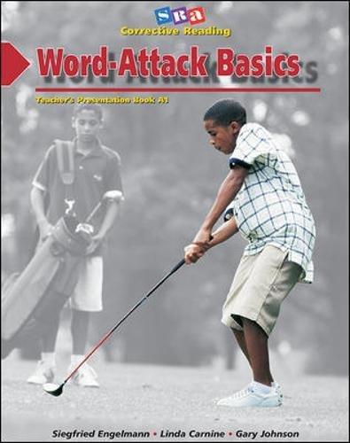 Word-Attack Basics: Teacher's Presentation Book 1, Decoding A