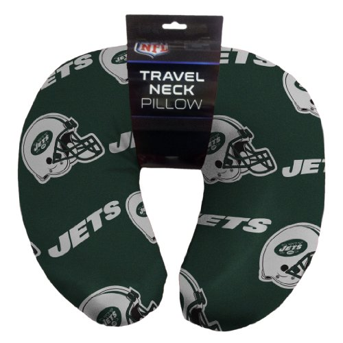 NFL New York Jets Beaded Spandex Neck Pillow (Jets Football Stuff compare prices)