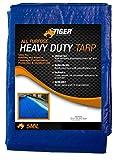 Tiger Tough All Purpose Heavy Duty Tarp True 5 Mil Thick Durability (20 x 30 Feet)