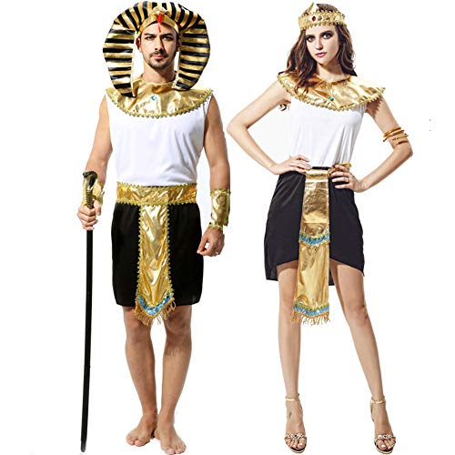 Halloween Costumes for Men Women Cosplay Suit Sets for Couples Pretend Play Dress Up Clothes Party -