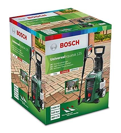 Bosch Hidrolimpiadora de Alta Presión UniversalAquatak 125 (1500 W ...