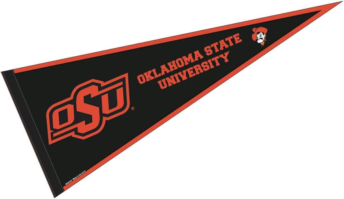 "OKLAHOMA STATE COWBOYS ORANGE BLACK PREMIUM 4/"" DECAL LICENSED NCAA"