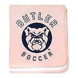 CafePress Butler Bulldogs Soccer - Baby Blanket, Super Soft Newborn Swaddle