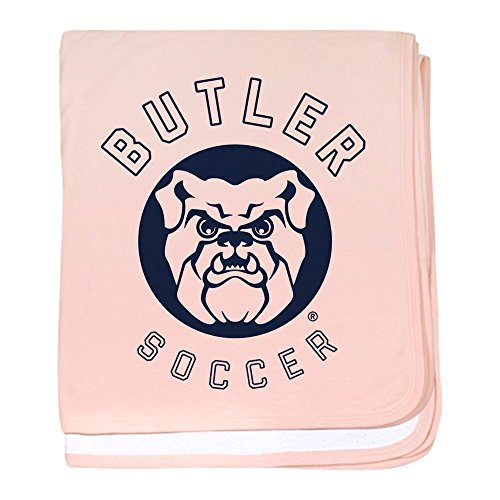 CafePress Butler Bulldogs Soccer - Baby Blanket, Super Soft Newborn Swaddle by CafePress