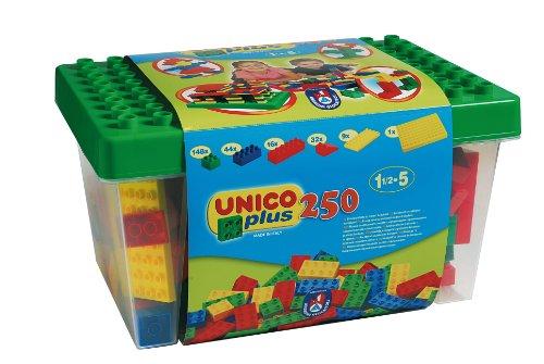 Unico-Plus-8525-Caja-con-bloques-de-construccin-250-piezas