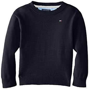 Tommy Hilfiger Baby Boys' Derrill Pull Over Sweater, Swim Navy, 18 Months