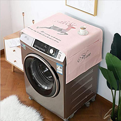 Mini Mexx Thick Cotton and Linen Single Door Refrigerator Drum Washing Machine Waterproof and Oil-Proof Disposable dust Cover