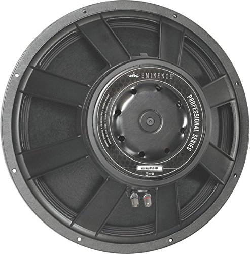 Eminence Kilomax Pro 18A 18'' PA Speaker Subwoofer, 1250 Watts at 8 Ohms by Eminence