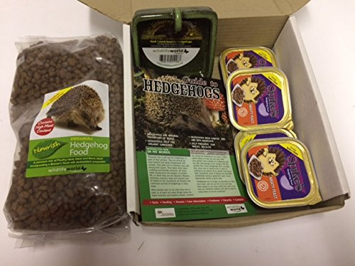 Hedgehog Feeding Pack With FREE Snack Bowl Everything Wildlife