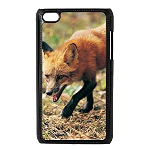DIYCASESTORE Beautiful Ipod Touch 4 Phone Case fox design,Bumper Plastic Customized Case WE489900