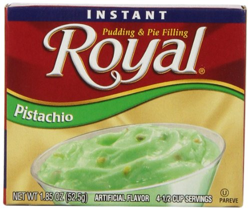 (Royal Instant Pudding Dessert Mix, Pistachio, Fat Free ,1.8 oz (Pack Of 12))