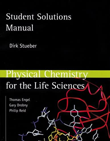 student solutions manual for physical chemistry for the life rh amazon com Chemistry Panel Chemistry Poster