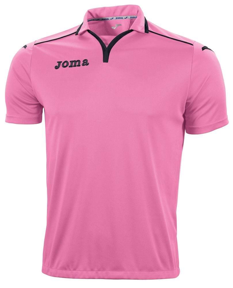 Joma tek Fluor Camiseta Manga Corta Niños, Shirt tek Rosa-Schwarz ...