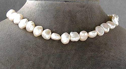 - Lovely! Baroque Creamy White FW Pearl Strand! 106662