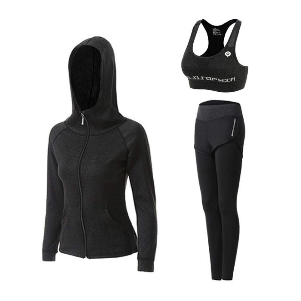 Ivory Medium SYLHXR Yoga Set Jacket+Tights Pants+Short+Yoga Shirt+Sports Bras 5 Pieces Running Fitness Gym Clothing Outdoor Sport Clothes