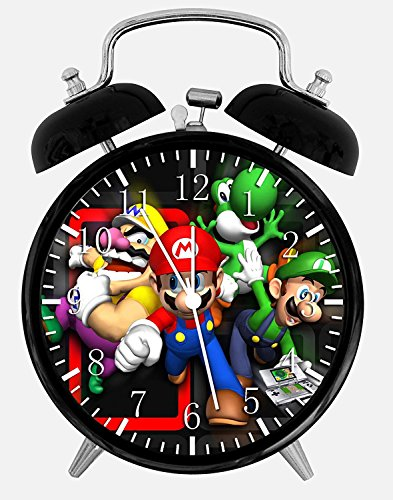 Amazon.com: New Super Mario Bros Alarm Desk Clock 3.75