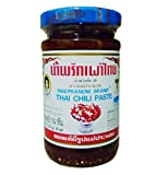 maepranom chili - Thai Chili Paste (Num Prik Pao) Mae Pranom Best Seller No.1 From Thailand