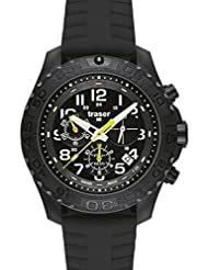 Traser H3 Outdoor Pioneer Chronograph Watch - Silicone Strap - 102912 by traser swiss H3 watches