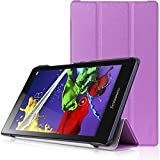 Lenovo Tab 2 A8 & Lenovo Tab 3 8 Case - HOTCOOL Ultra Slim Lightweight Stand Cover Case For Lenovo Tab 2 A8-50 & Lenovo Tab 3 8 Tablet, Purple
