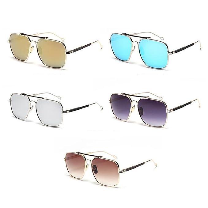 Meijunter New Hipster Square Mirror Metal Frame Eyewear Vintage Retro Women Men Lunettes de soleil Sunglasses vEG9z