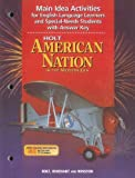 American Nation, Holt, Rinehart and Winston Staff, 0030654025
