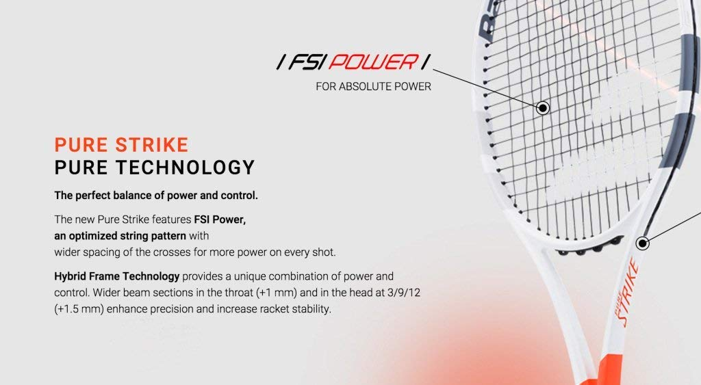 Amazon.com : Babolat 2017 Pure Strike 100 Tennis Racquet : Sports & Outdoors