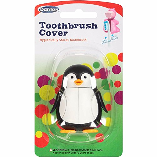 Animal Toothbrush Covers, Assorted Animals, (3 Pack)