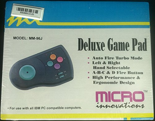 1995 Micro Innovations Deluxe Game Pad