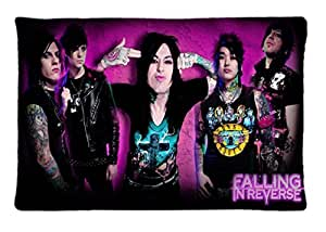 Falling In Reverse ~ Durable Unique Design Pillow Case Standard Size 20X30 inches, Rectangle Pillowcase, New Fashion Image One Side, Perfect Engood Custom Pillow case