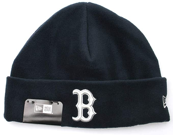 90a8ccab31400 A NEW ERA Gorro Beanie Tejido de Micro Polar Winter Utility Boston Red Sox  Azul Marino