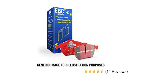 EBC Brakes DP31989C Redstuff Ceramic Low Dust Brake Pad