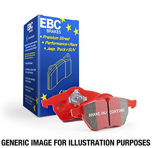 EBC Brakes DP31666C Redstuff Ceramic Low Dust Rear Brake Pad