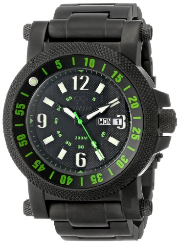 REACTOR Men's 56509 Fallout 2 Unidirectional Ratcheting Timing Bezel Watch