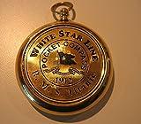 RMS TITANIC 1912 Brass POCKET COMPASS%21