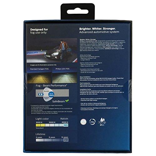 Bóng đèn pha Led xe ô tô/ xe hơi Philips H11 LED 12794 6500K (gầm )