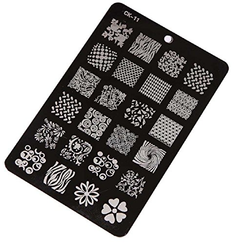 Stamping Printing Plate Manicure Nail Art Decor 14.5x10.5cm - 9