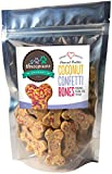 Confetti Bones, Coconut and Peanut Butter Gourmet Organic and Vegan Dog Treats - Gluten Free, Grain Free Larger Image