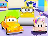 Tom The Tow Truck's Paint Shop : Suzy the Little Pink Car is a Unicorn / Steve the Steamroller is a Yellow Creature